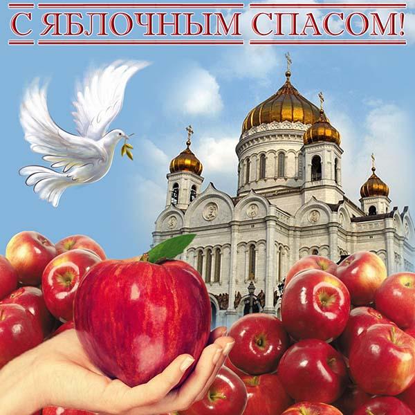 картинка поздравления с яблочным спасом_19
