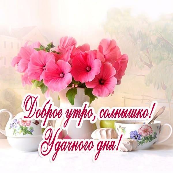 С добрым утром картинки с пожеланиями девушке_2
