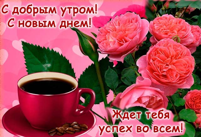 с добрым утром с новым днем