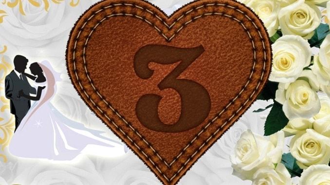 поздравления с 3-летием свадьбы