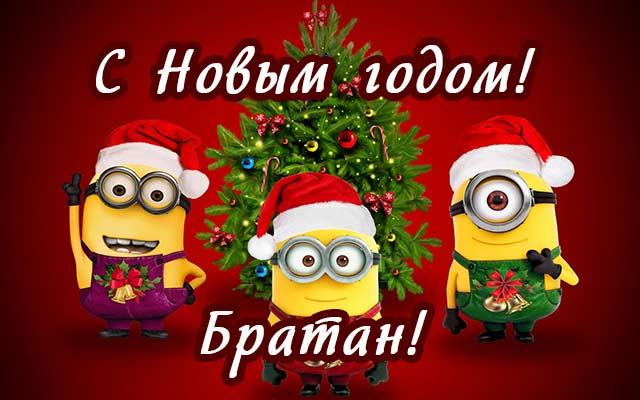 Новогодние поздравления братьями