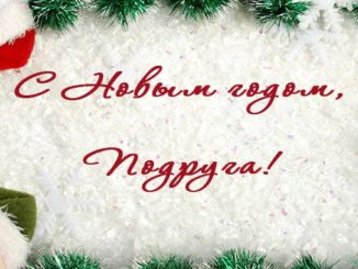 Прикольные поздравления с Новым годом подруге